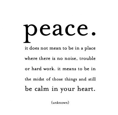 Finding Peace in Your Life: Motivational Quotes | Heart and Mind